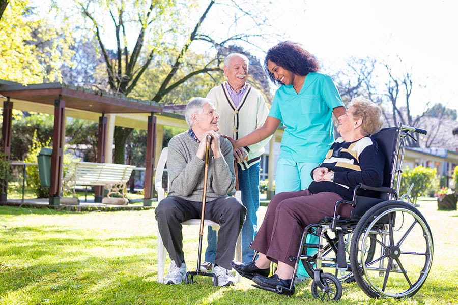 Borer Dementia Care and Nursing Home Access Control