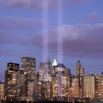 Tribute In Light of World Trade Center