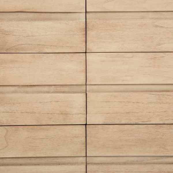 Cómoda madera natural Nicole