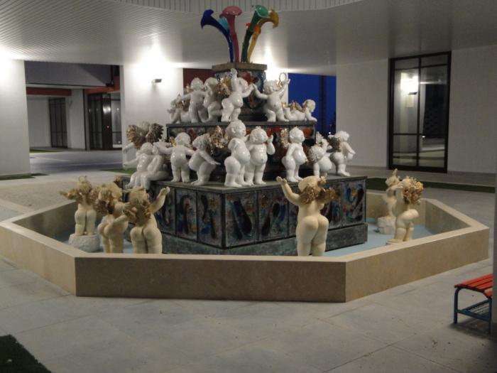 La fontana degli angeli