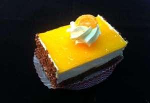 sinaasappel gebakje