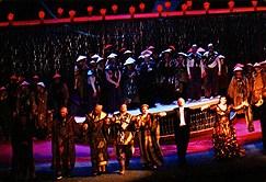 """Спектакъл на """"Турандот"""" в Япония, дирижиран от Борис Спасов"""