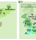 Izbor poštnega okraja in regije ekološke kmetije