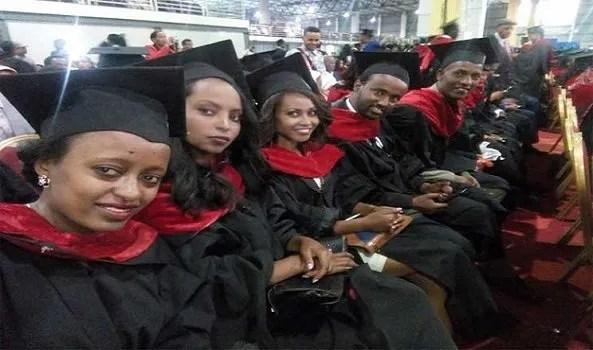 Addis Ababa University graduates - Ethiopia