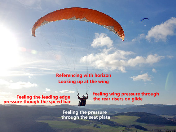 paragliding active flying
