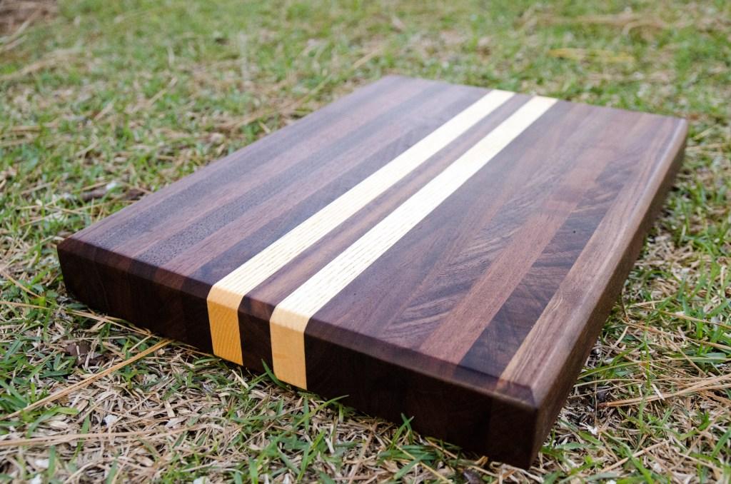 diy edge grain butcher block by Bork Wood blog