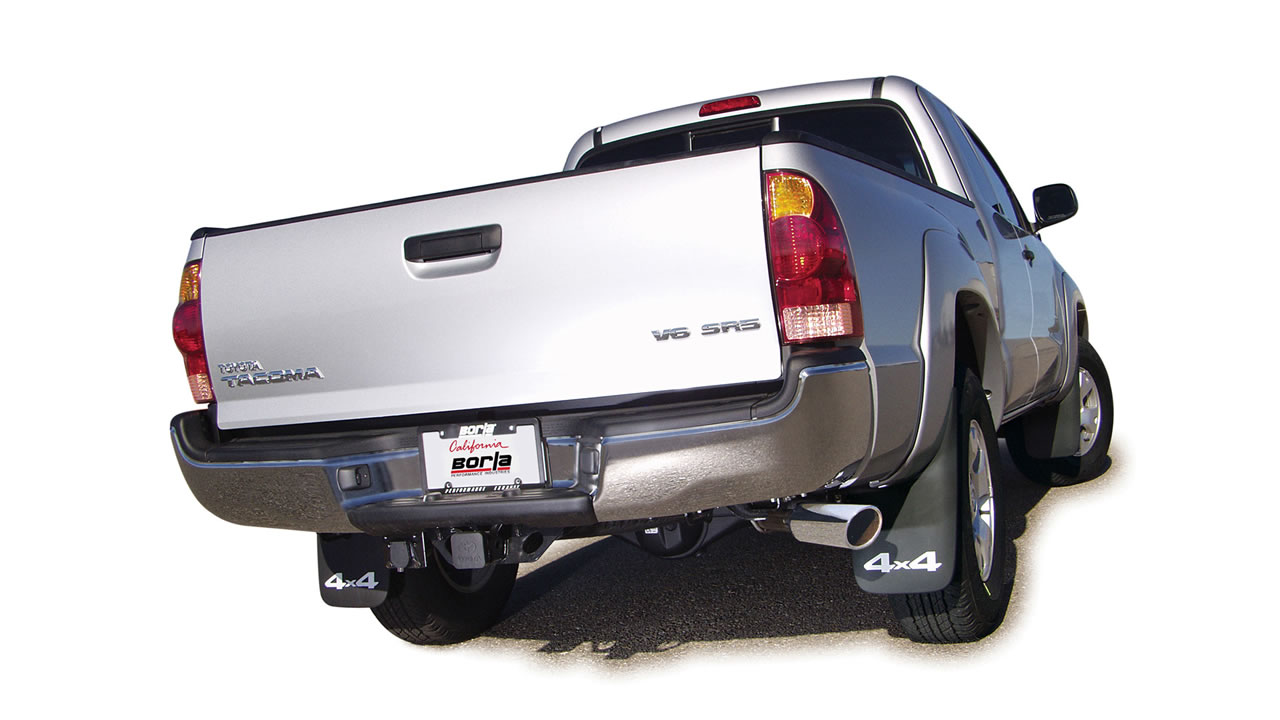 2005 2012 toyota tacoma cat back exhaust system s type part 140160