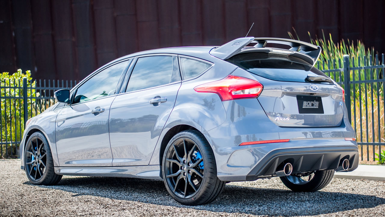 2016 2018 ford focus rs cat back exhaust system atak part 140730