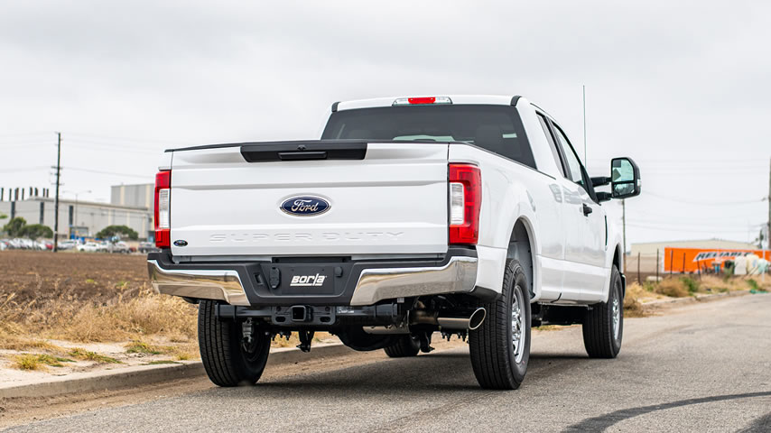 f 250 exhaust system performance