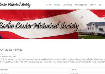 Berlin Center Historical Society
