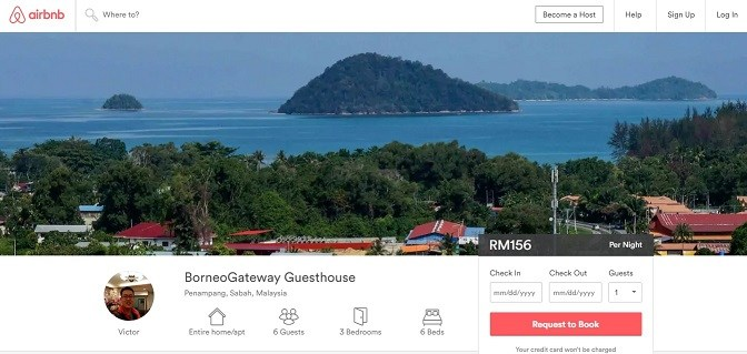 Airbnb – I'm Hosting and Welcome to Kota Kinabalu