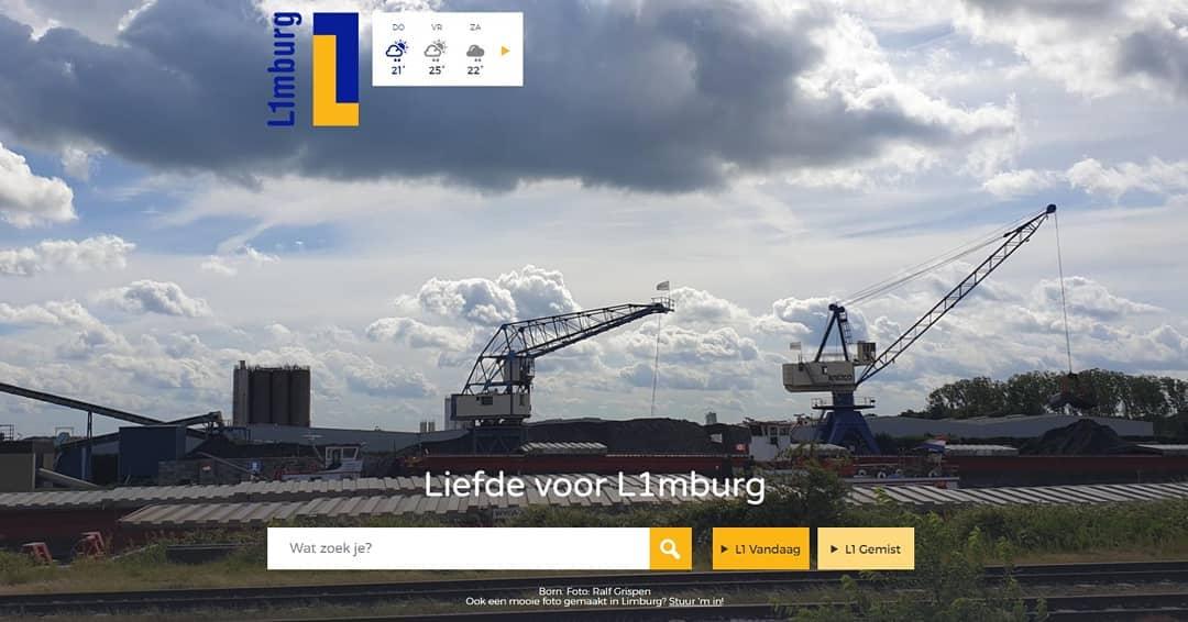 Hoe leuk is dat…#Born gewoon op de homepage van @l1mburg #liefdevoorlimburg #borninbeeld #born  Credits: Ralf Grispen (@borninbeeld