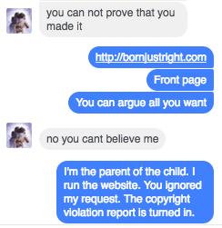 Outrageous conversation