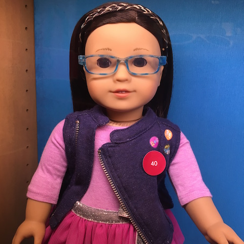 Doll with Glasses