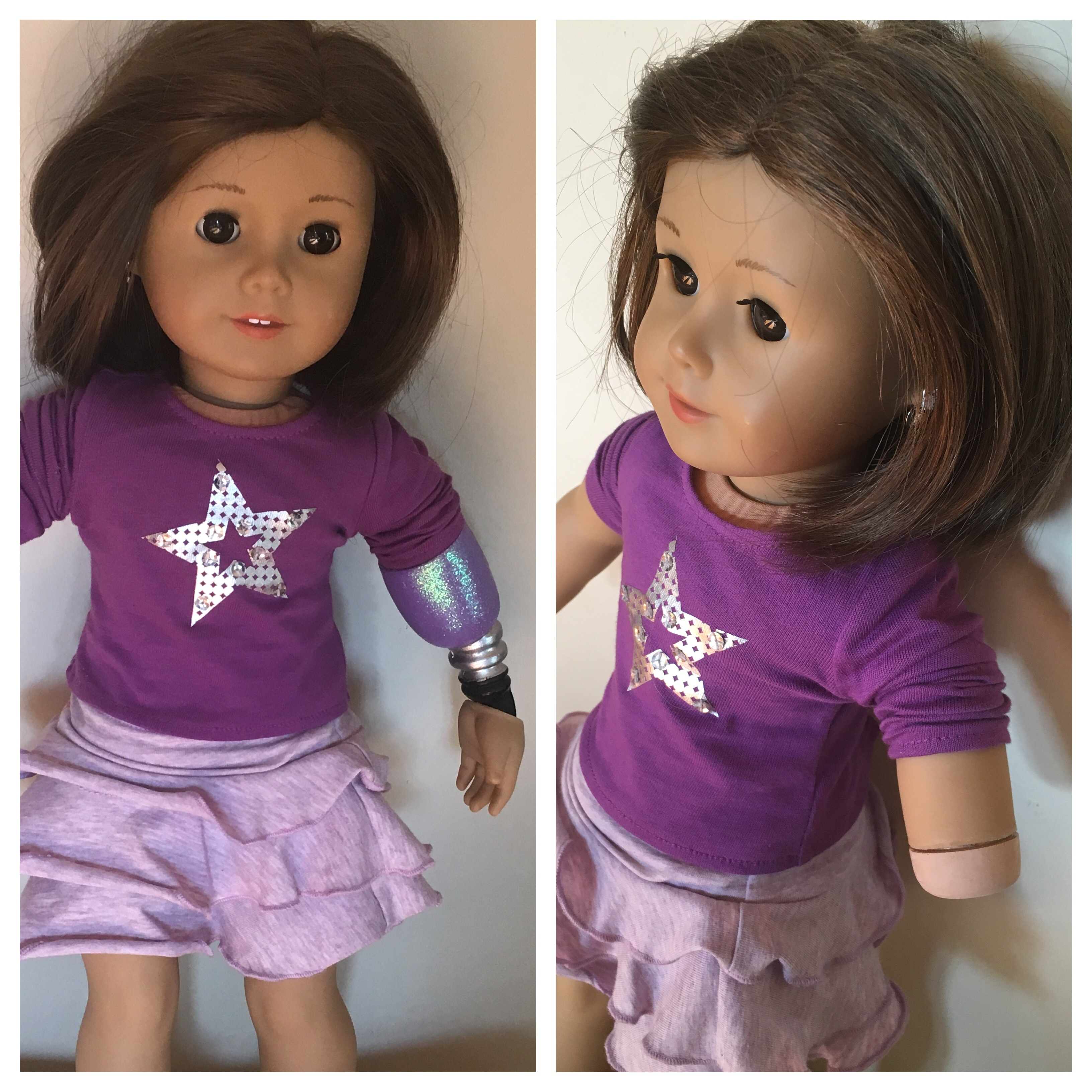 STAR WARS PJS DOLL CLOTHES CUSTOM MADE FOR AMERICAN GIRL DOLL