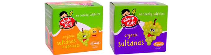 Whole Kids Sultanas