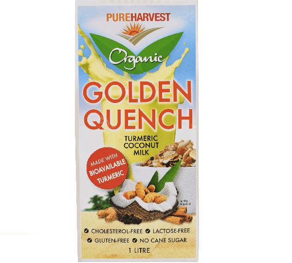 Pure Harvest Golden Quench (Turmeric coconut) Milk 1L (UHT ...