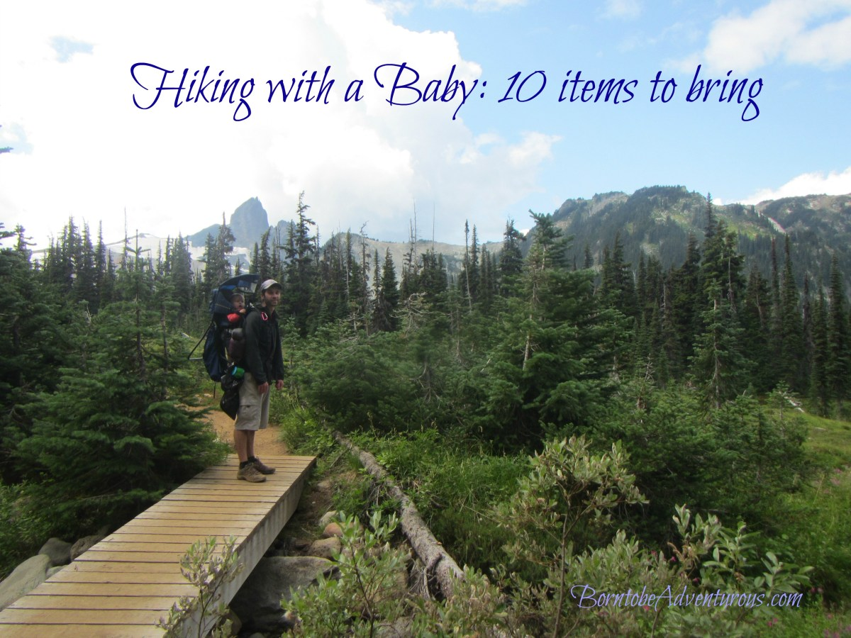 Hiking with a baby: 10 items to bring