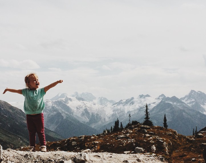 Hermit Meadows with a toddler