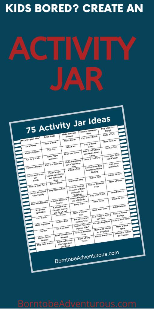Activity Jar