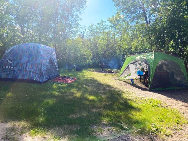 Echo Valley Provincial Park Campground