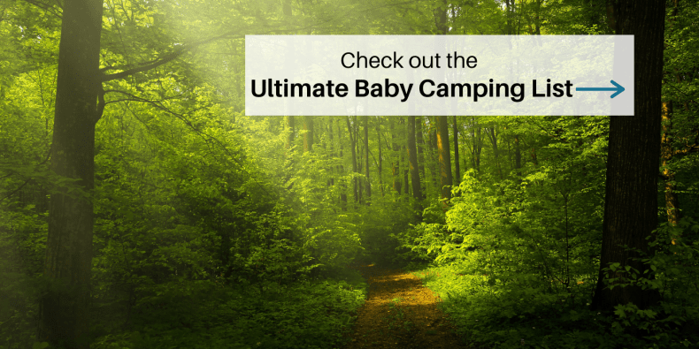 Baby Camping List