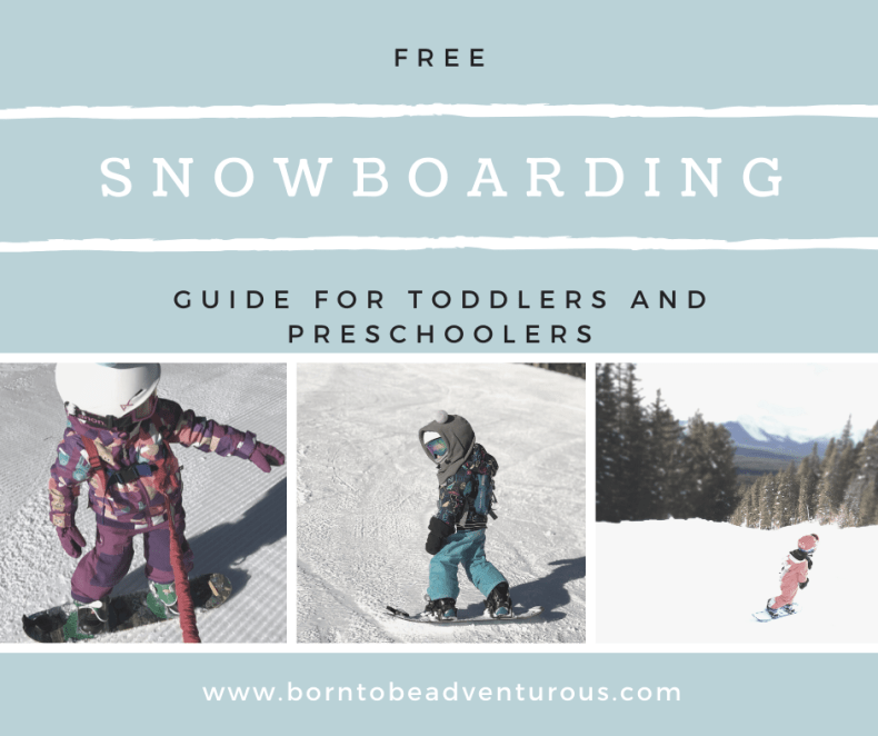 Snowboarding Guide for Toddlers and Babies