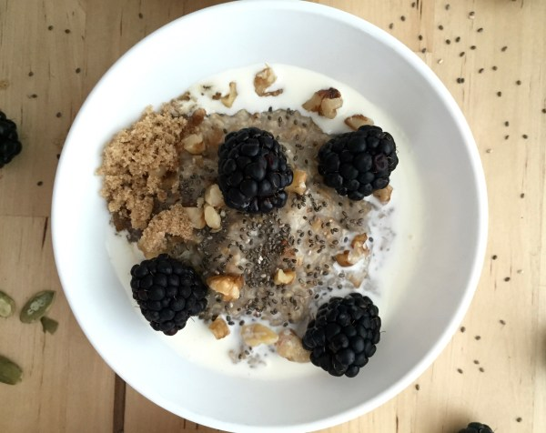 3 Ways to Top Steel Cut Oats | Born To Be Bright