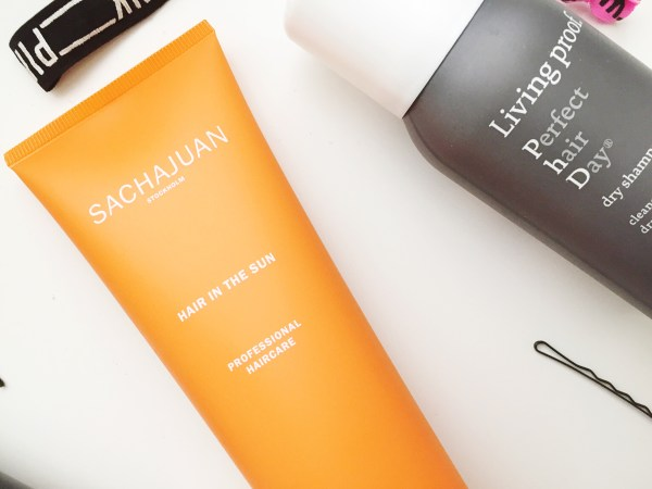 5 Hair Products I Love - Sachajuan Hair in the Sun and Living Proof Perfect Hair Day Dry Shampoo   Born To Be Bright