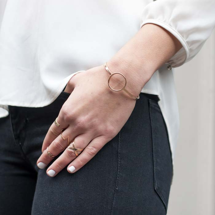 Trove Jewelry Wishlist - Shape Outline Bracelet | Born To Be Bright