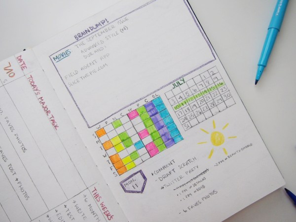 How To Start A Bullet Journal | Born To Be Bright