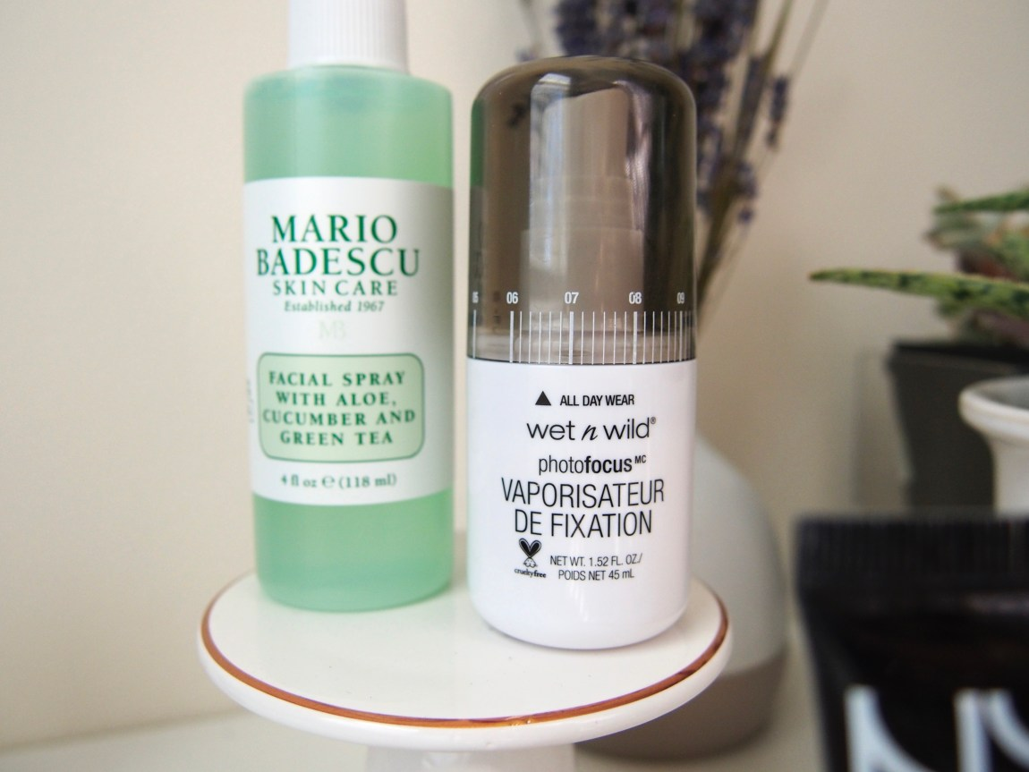 A Few New Beauty Bits - Wet N Wild Photofocus Makeup Setting Spray