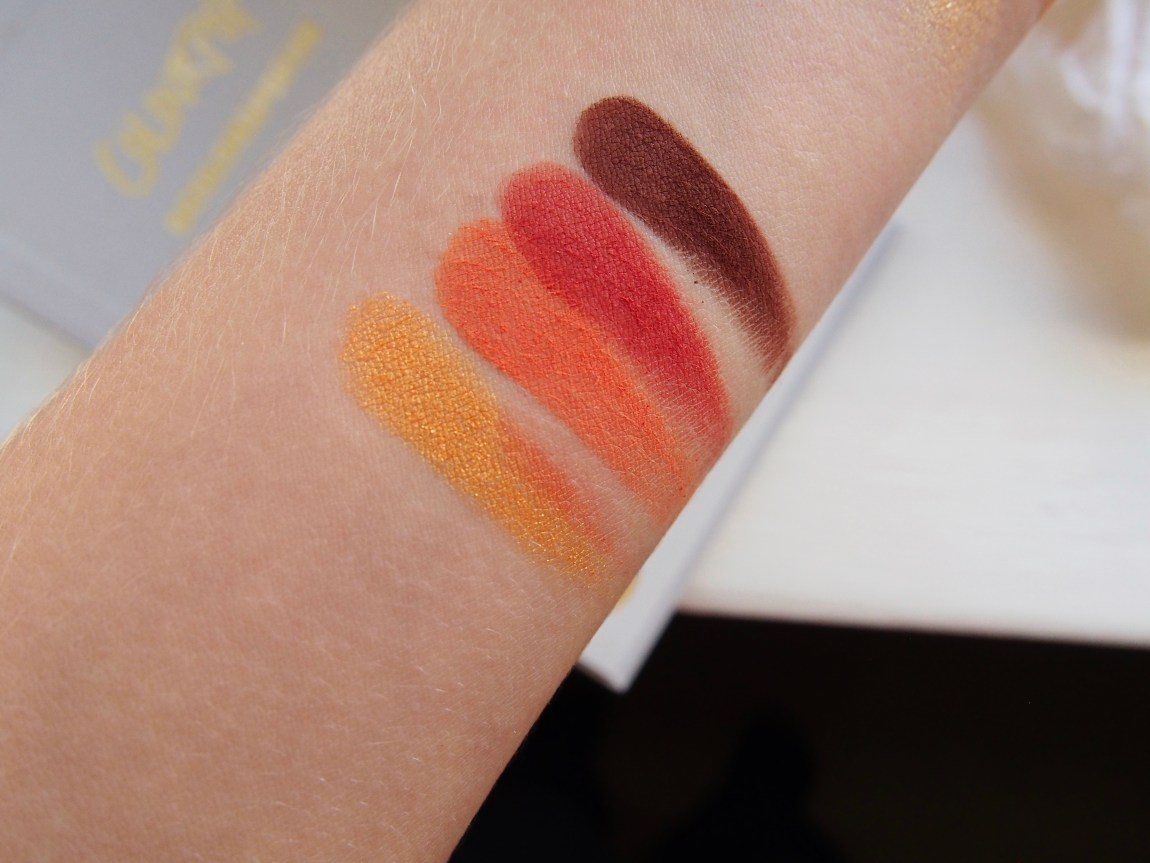 Colourpop's Yes, Please! Palette Swatches