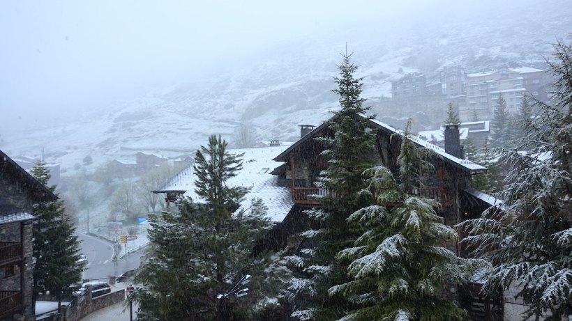 Andorra paisaje nive