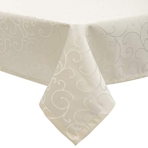 mmhjs nappe de coton blanc lave plisse feuille de lotus dentelle napperon maison tissu carre couverture decorative serviette a 90x90 cm nappes cuisine maison