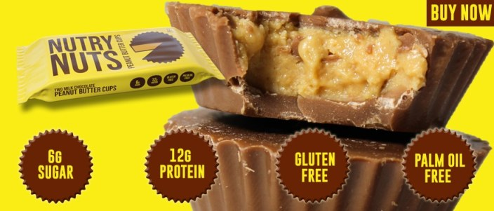 NUTRY NUTS Peanut butter Cups