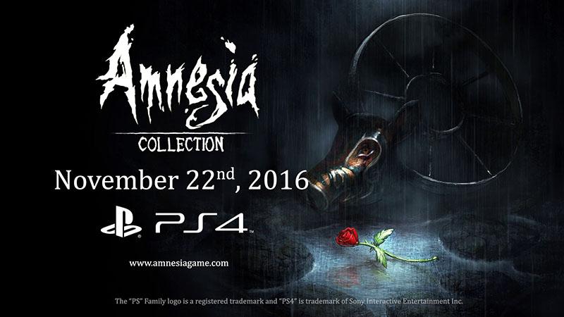 Amnesia Collection Anunciada Para PS4 BornToPlay Blog De Videojuegos