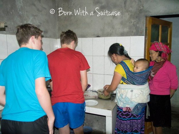 Home stay in Vietnam
