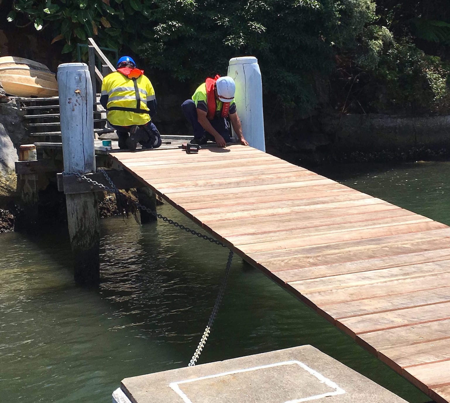 Jetty and Wharf Repair Sydney