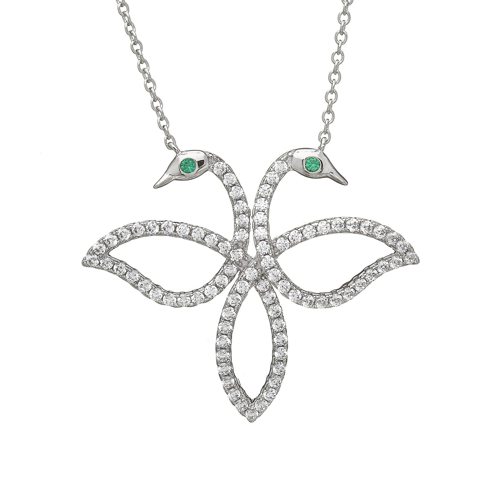 Large Legend Of Lir Contemporary Necklace