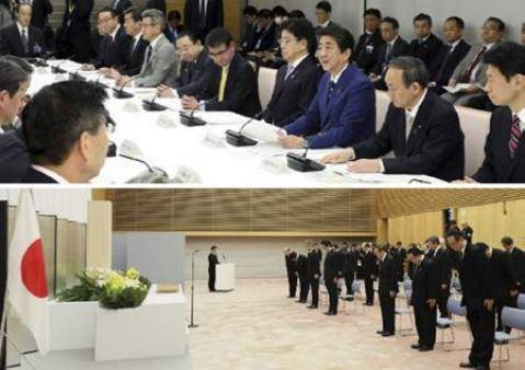 首相官邸HPより - COVID-19と東日本大震災9年