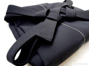 folded-hakama