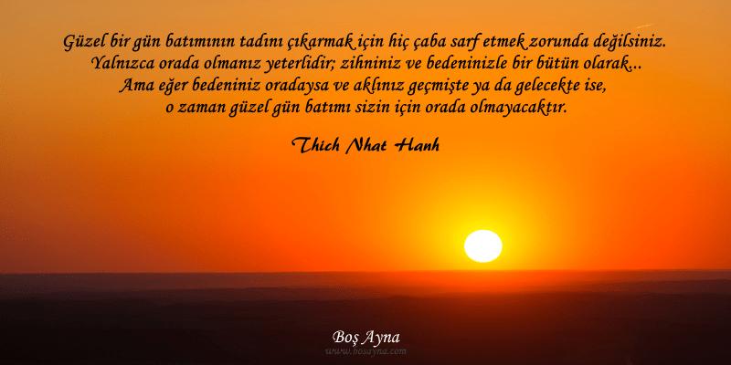 Tay03 Orada Olmak Boş Ayna Thich Nhat Hanh