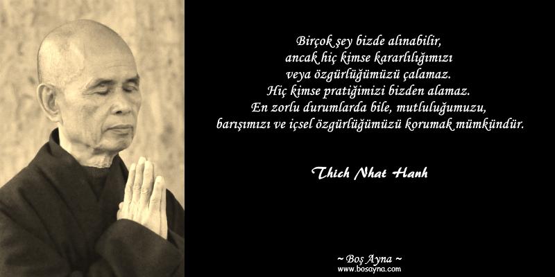 Tay06 Pratik Thich Nhat Hanh Buddha Boş Ayna
