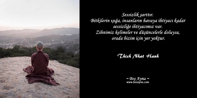 Tay07 Sessizlik Thich Nhat Hanh Boş Ayna