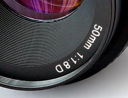 Lunghezza focale 50 mm