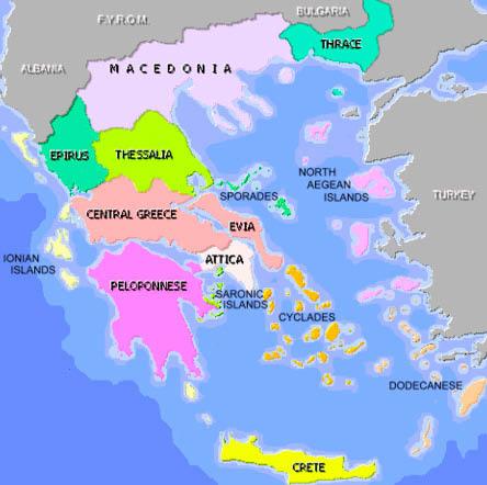 Cartina Della Grecia Antica In Italiano.2 1 1 Gli Antichi Greci Le Colonie E I Pitagorici Colore Digitale Blog