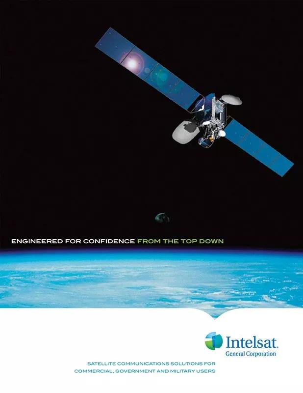 Intelsat - Pocket Folder Cover