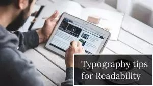 typography tips for readability