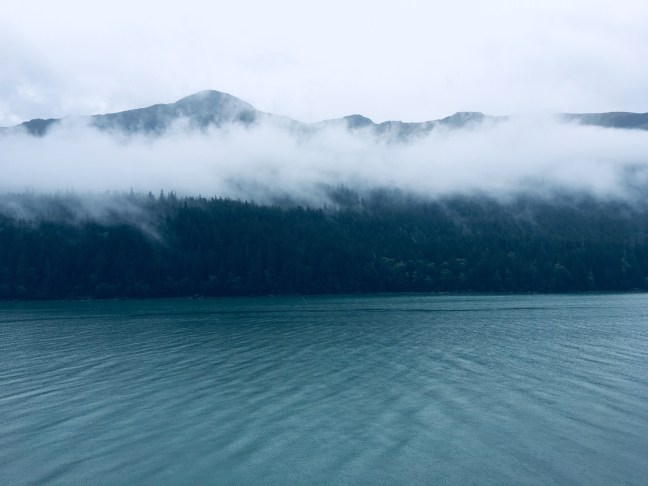 Glacier Bay, beautiful water and mountains
